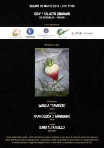 10.03.18 ore 17.00 presentazione IL POSTO DELLE FRAGOLE VERDI (Wanda Tramezzo)