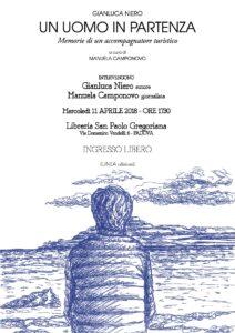 11.04.18 ore 17.30 presentazione UN UOMO IN PARTENZA (Gianluca Niero)