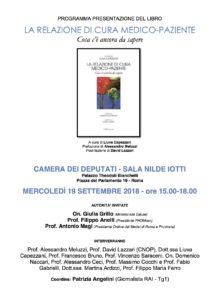 19.09.18 ore 15-18 presentazione LA RELAZIONE DI CURA (Liuva Capezzani)